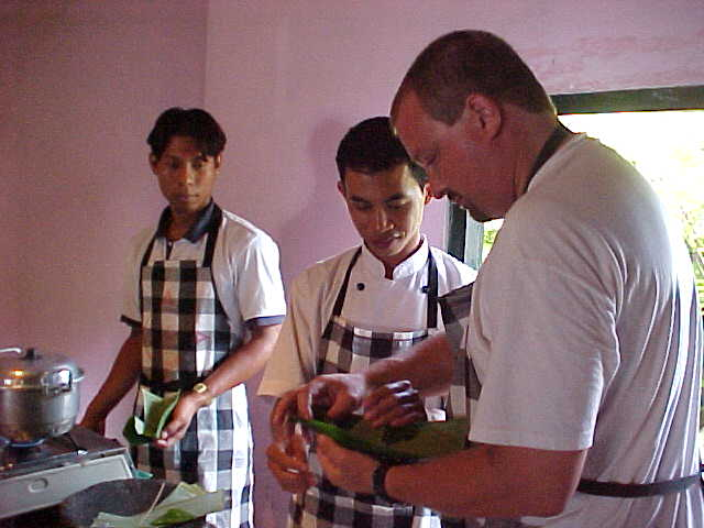 MRA making a dumpling
