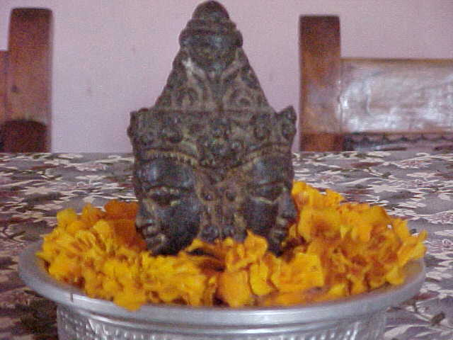 Shiva table decoration