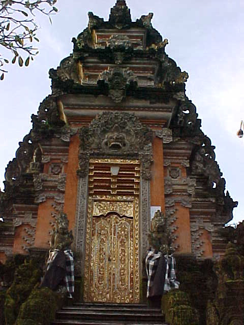 Temple at the Palace restaurant in Ubud, Bali