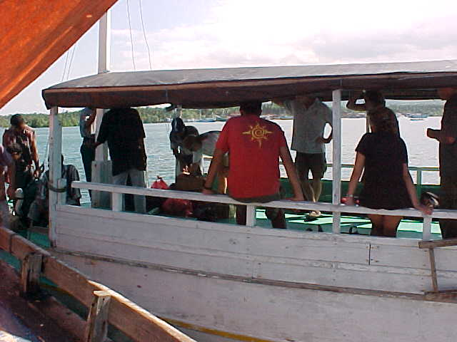 Boarding the boat that will take us to Komodo.    Lombok, West Nusa Tenggara, Indonesia (Indonesia, The Travel Addicts, Lombok)