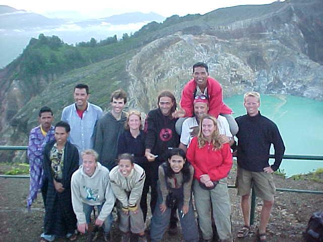 Driver#2, Crew, Jason, Michail, Kevin, Marrion, Debbie, Frank, Diana, Justin, MRA, SGK, Johan (Indonesia, The Travel Addicts, East Nusa Tengarra, Flores)