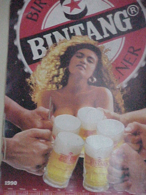 Bintang poster.   (Indonesia, The Travel Addicts, Bali)