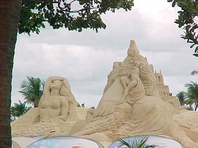 Sand sculptures... (Singapore, The Travel Addicts)