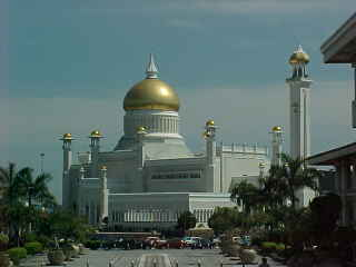State mosque :  (Brunei, The Travel Addicts)