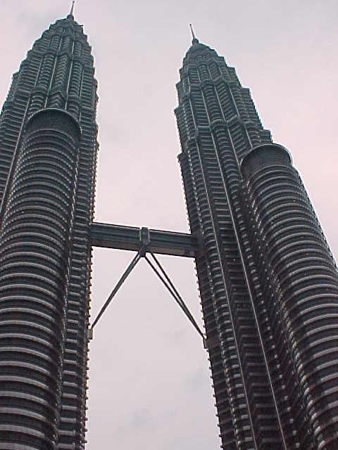 The tallest buildings in the world : There is no tourism at the Petronas Towers.  You cannot go in unless you have business there. (Malaysia, The Travel Addicts)