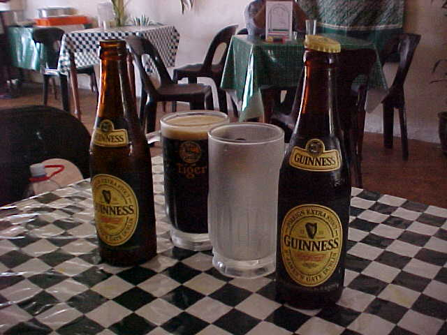 Guiness was the only beer available (Malaysia, The Travel Addicts)