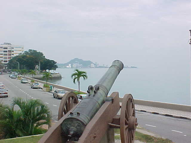 Cannon at Ft Cornwallis (Malaysia, The Travel Addicts)