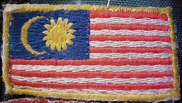 MVC-805S-Malaysian flag for my backpack.  (The Travel Addicts, Malaysia)