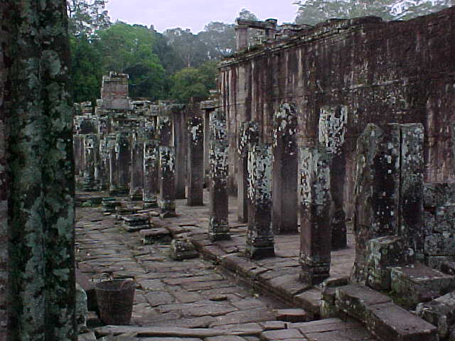 Inside the Bayon :  (Cambodia, The Travel Addicts)