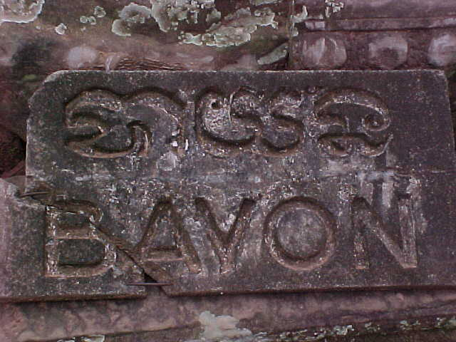 Sign says: Bayon (Cambodia, The Travel Addicts)