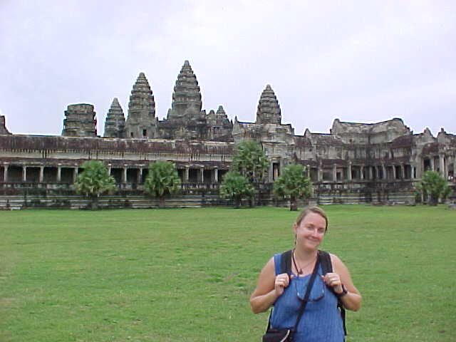 SGK and the Wat :  (Cambodia, The Travel Addicts)