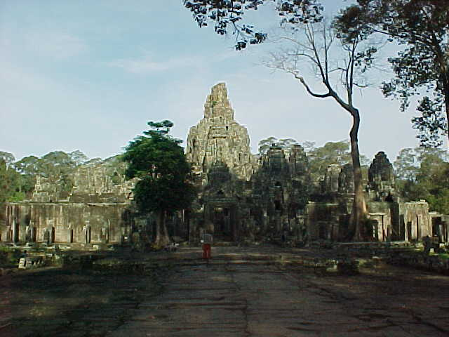 Back at the Bayon :  (Cambodia, The Travel Addicts)