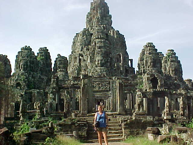 SGK at the Bayon :  (Cambodia, The Travel Addicts)