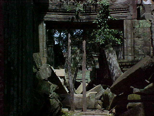 Overgrown Tha Prohm :  (Cambodia, The Travel Addicts)