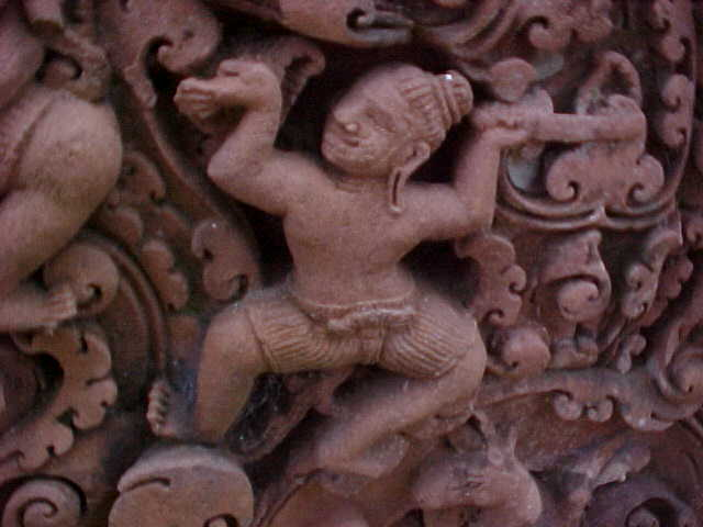 Carvings :  (Cambodia, The Travel Addicts)