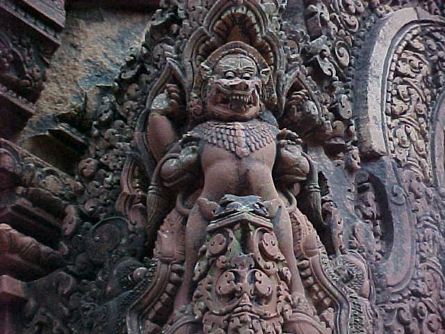 Still more carvings :  (Cambodia, The Travel Addicts)