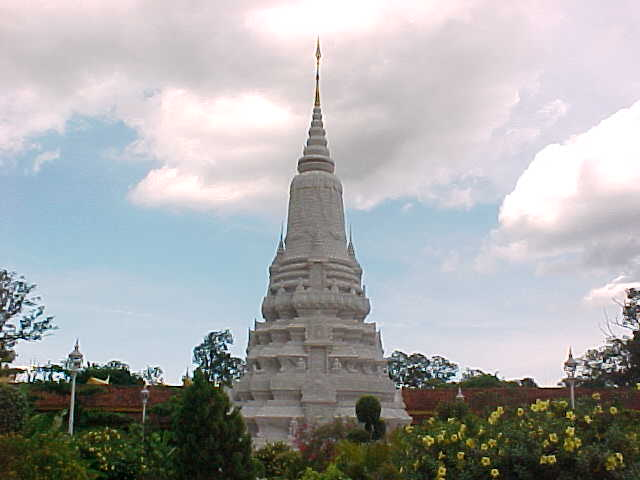 Stupa of Norodom (Cambodia, The Travel Addicts)