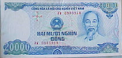 MVC-8223-2000 Dong. , and . : We had great fun making jokes about the currency name. (The Travel Addicts, Vietnam)