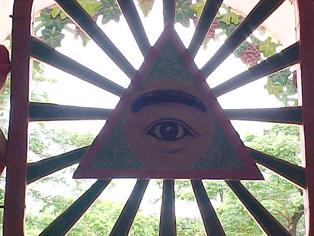 Masonic looking window :  (Vietnam, The Travel Addicts)