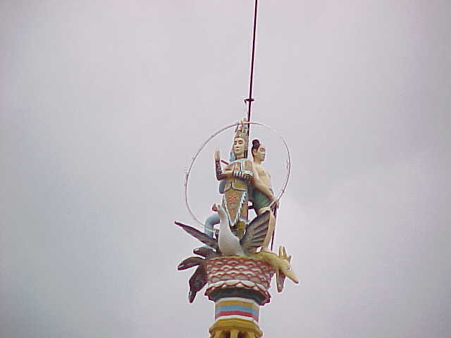 Temple spire :  (Vietnam, The Travel Addicts)