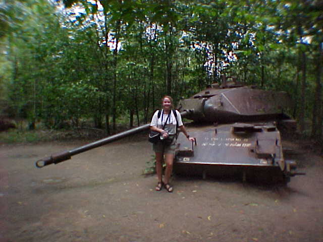 Tank killed in 1970 :  (Vietnam, The Travel Addicts)