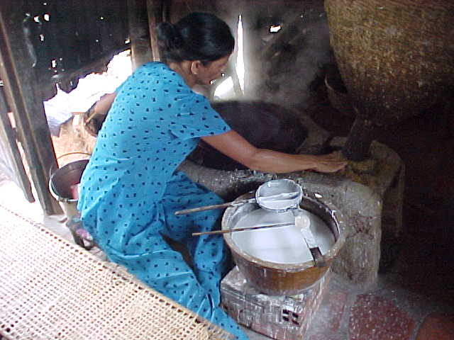 Making rice paper (Vietnam, The Travel Addicts)