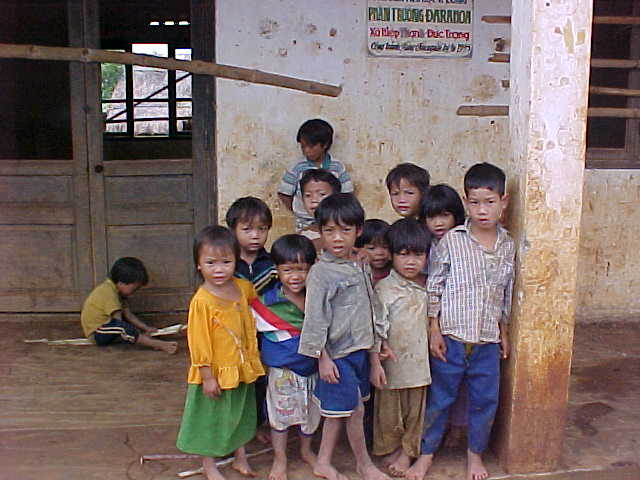 Children of the chicken village :  (Vietnam, The Travel Addicts)