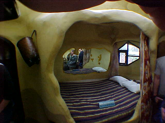 "A room at The ""Crazy House"" :  (Vietnam, The Travel Addicts)"