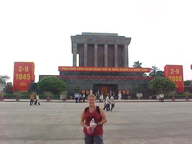 SGK at Ho Chi Mihn's tomb :  (Vietnam, The Travel Addicts)