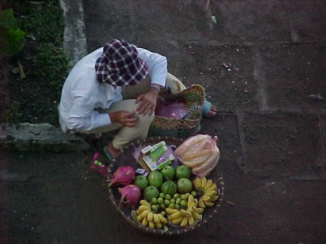 Fruit lady :  (The Travel Addicts, Vietnam)