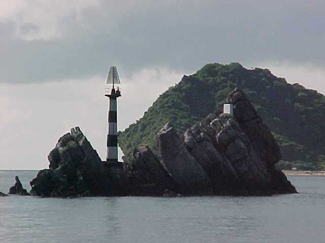 Lighthouses in Ha Long Bay :  (The Travel Addicts, Vietnam)