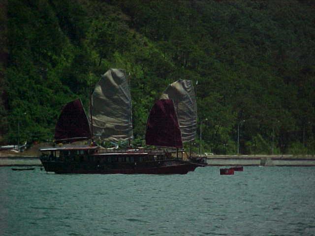 Junk at Ha Long City :  (The Travel Addicts, Vietnam)