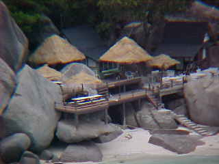 Photo from the same spot as those above - on max zoom (it's the restaurant on Big mountain) :  (The Travel Addicts, Thailand)