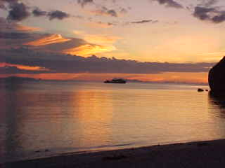Sunset from Cocohut :  (The Travel Addicts, Thailand)