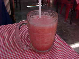 Watermelon shake : SGK's favorite drink (The Travel Addicts, Thailand)