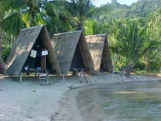 Beach bungalows : These bungalows really are on the beach (The Travel Addicts, Thailand)