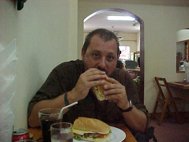 Closest thing to a Togos sandwich in 21 months!!! (Laos, The Travel Addicts)