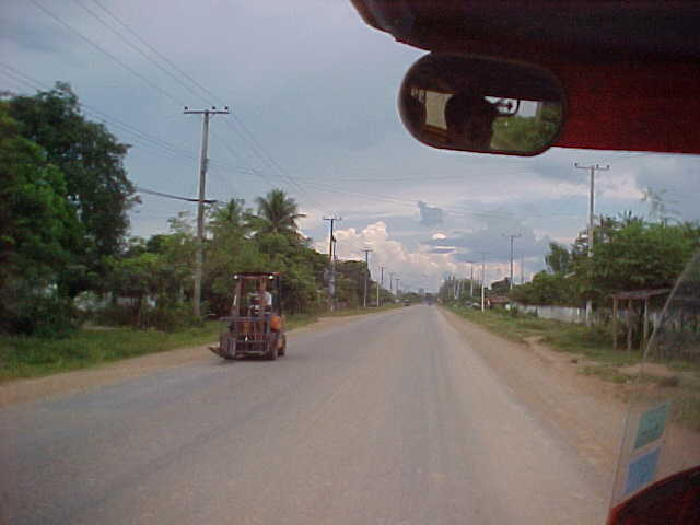 Roads in Laos are much emptier than they are in Thailand (Laos, The Travel Addicts)