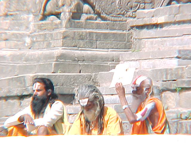 More Sadhus (Nepal, The Travel Addicts)