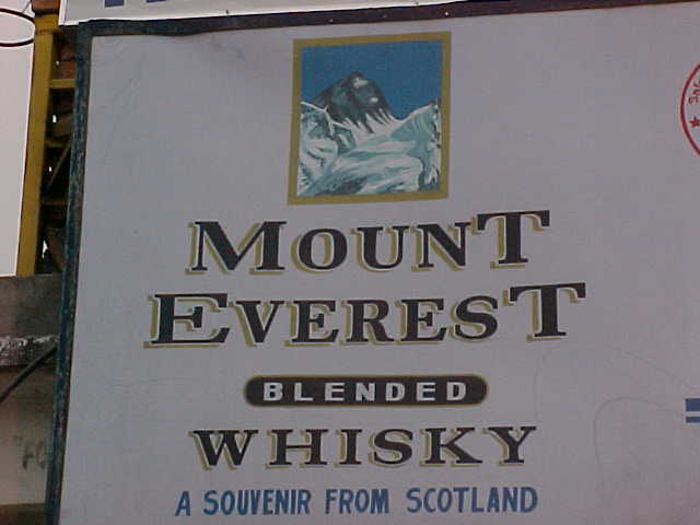 Souvenir from Scotland??? in Nepal??? : Am I the only one that sees the irony? (Nepal, The Travel Addicts)