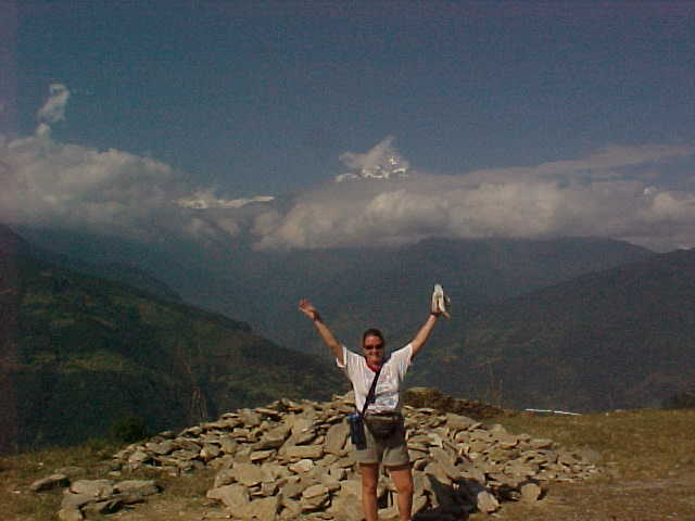 SGK on top of the world!!! (Nepal, The Travel Addicts)