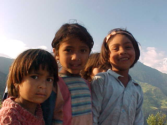 Children of Dhampus (Nepal, The Travel Addicts)