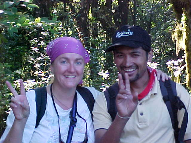 SGK and our guide Gopi (Nepal, The Travel Addicts)