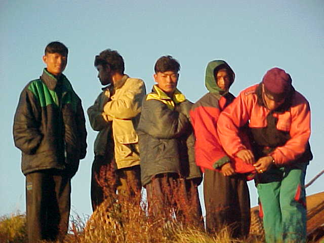 Even the Sherpa's were cold! (Nepal, The Travel Addicts)