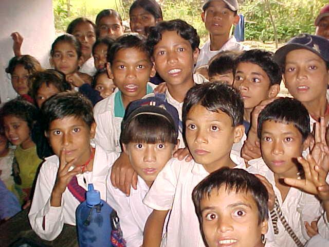 Children of New Bridge (Nepal, The Travel Addicts)
