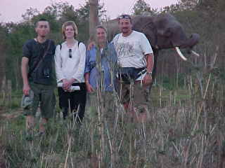 On Saffari : The elephant behind us is a convicted man killer (Nepal, The Travel Addicts)