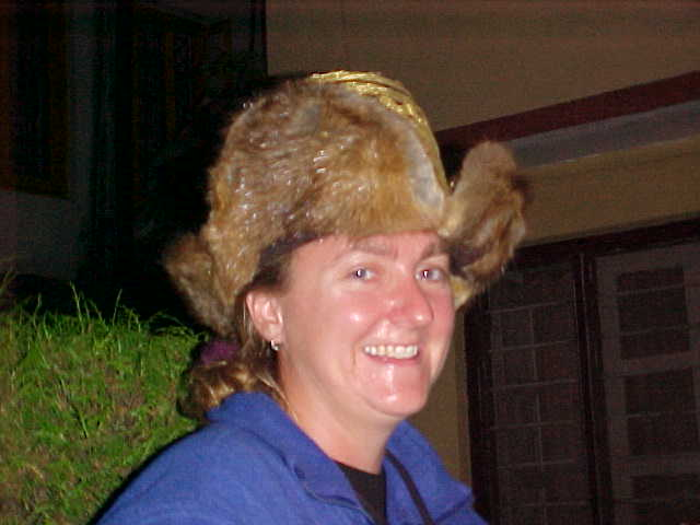 SGK in Tibetan hat (Nepal, The Travel Addicts)