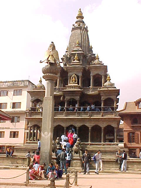 Moghul influenced temple (Nepal, The Travel Addicts)