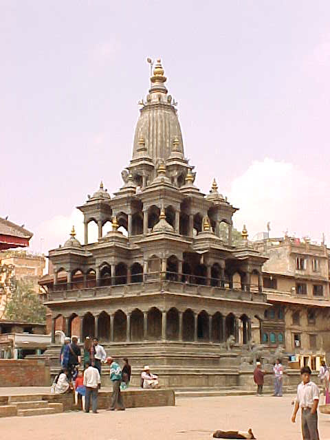 Krishna temple (Nepal, The Travel Addicts)
