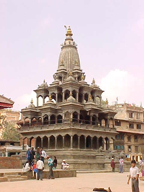 Krishna temple (Nepal, The Travel Addicts)